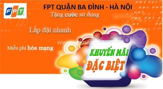 Lắp mạng FPT quận Ba Đình