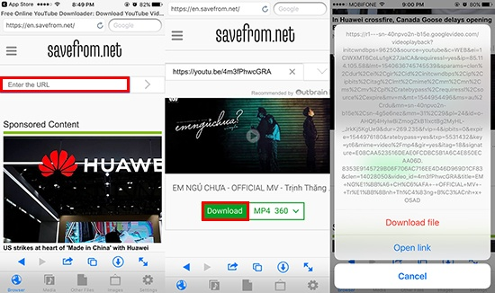 Download youtube and facebook videos for free on iPhone, iPad