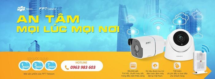 Lắp đặt camera chính hãng FPT