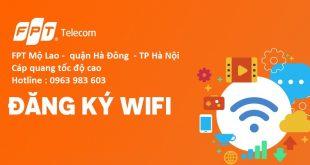 Lắp mạng FPT Mộ Lao quận Hà Đông